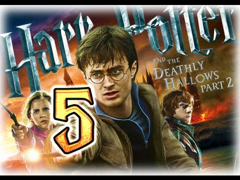 Harry Potter and the Deathly Hallows Part 2 Walkthrough Part 5 (PS3, X360, Wii, PC) Bridge Troll