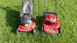 The Snapper Toro Lawn Mower Bake-Off Competition -- Which Cuts Better -- May 21, 2013
