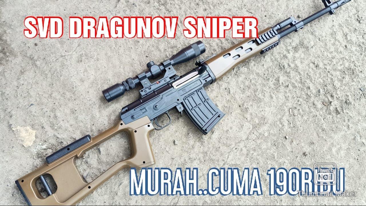 Sniper Svd Dragunov Airsoft Spring Dcobra Youtube