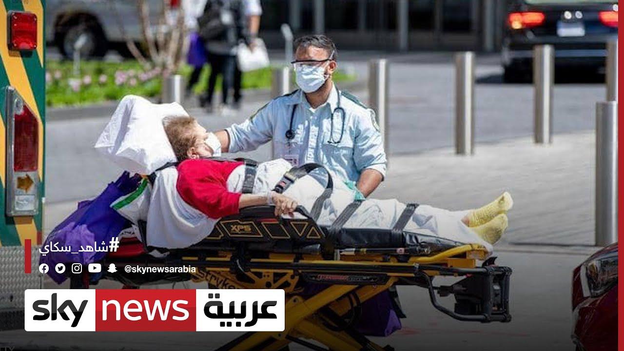 تسجيل 100 ألف إصابة في الولايات المتحدة خلال 24 ساعة  - نشر قبل 3 ساعة