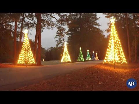 VIDEO: Watch Callaway Gardens' Fantasy In Lights light up