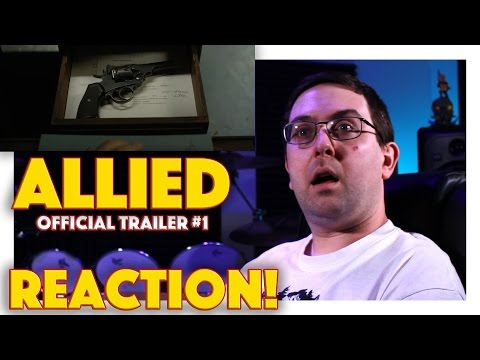 REACTION! Allied Official Trailer #1 - Brad Pitt Movie 2016