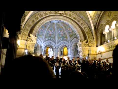 Pro Musica Hungarica Choeur de l'Université Lóránd Eötvös de Budapest - Lyon Fourvière 2/13