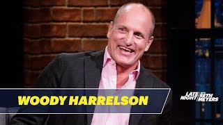 Download lagu Woody Harrelson Had a Bizarre Dinner with Trump, Melania and Jesse Ventura