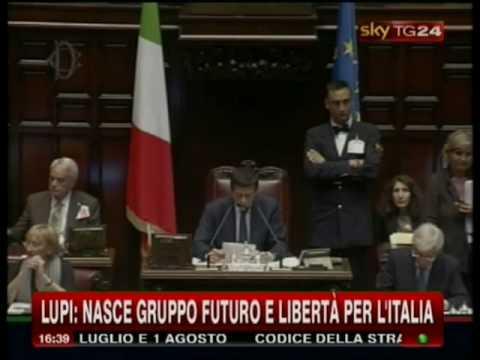 Futuro e libert per l 39 italia l 39 elenco dei 33 deputati for Elenco dei deputati