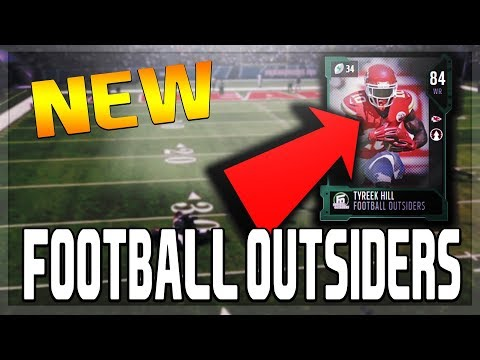 NEW MUT 18 FOOTBALL OUTSIDERS PLAYERS!!! NEW TYREEK HILL!!! | MADDEN 18 ULTIMATE TEAM