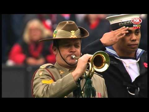 AFL: ANZAC Day 2015 at the MCG
