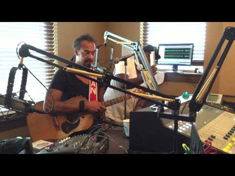 Michael Franti Visits MJ & Sam on 101.7 in Bend, Oregon
