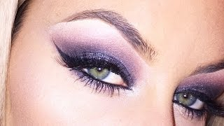 Smokey Purple Eye Look