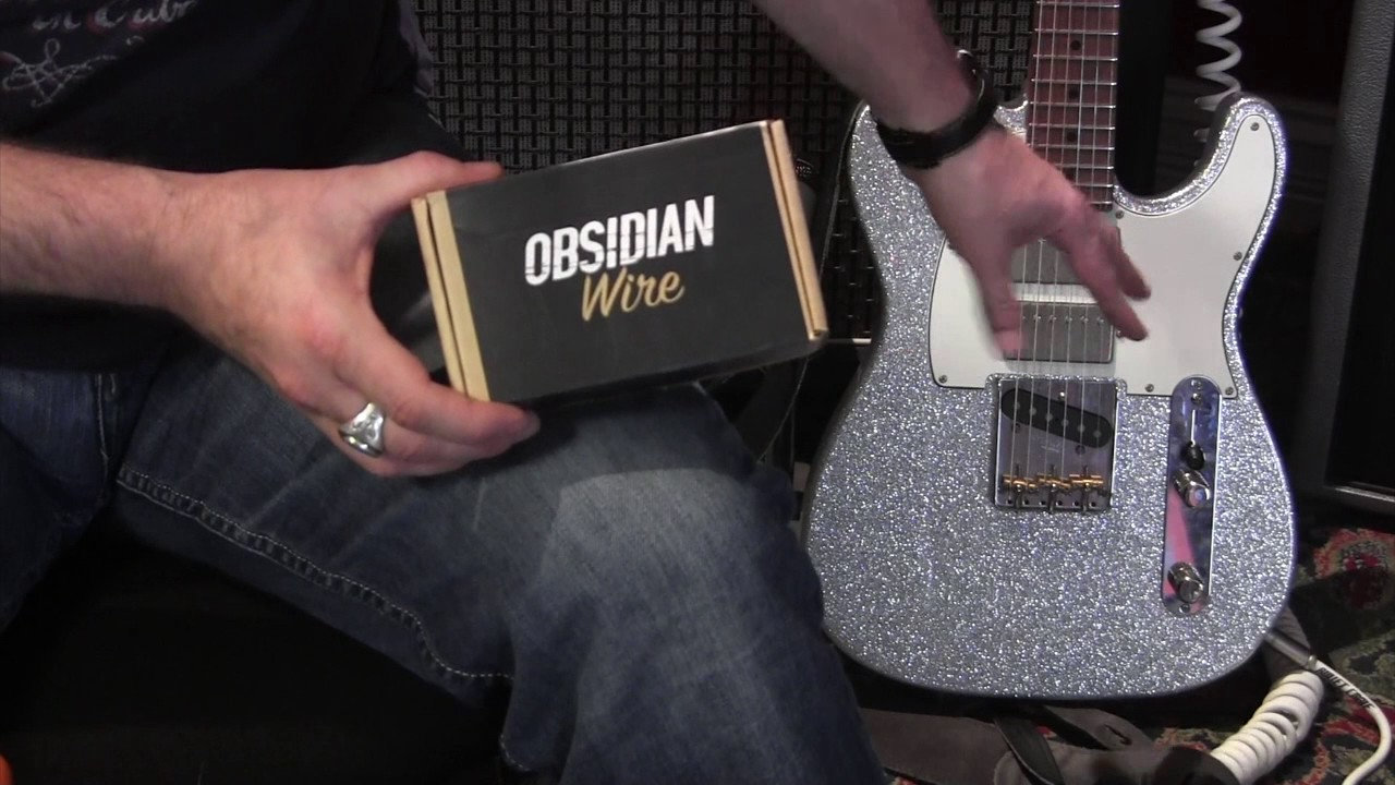 obsidian wire pro wired electronics drop in custom 5 way telecaster solderless guitar pickup harness [ 1280 x 720 Pixel ]