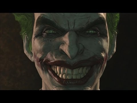 Batman Arkham Origins The Joker's Therapy Session About Batman (With Harley Quinn)