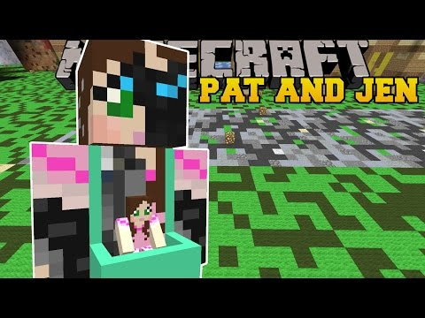 Minecraft: PAT AND JEN VEHICLE (CAR AND UFO TRICKS!) Mod Showcase