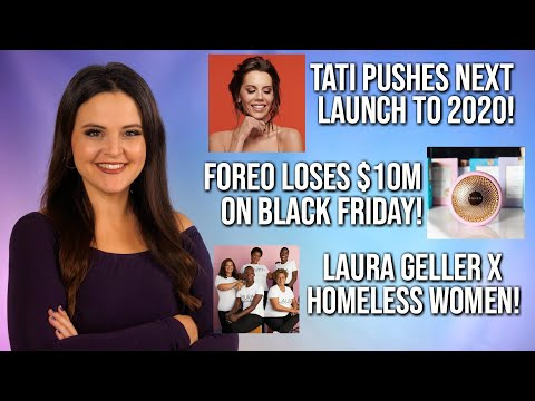 What's Up in Makeup NEWS! Tati Beauty 2nd Launch Postponed, Foreo Fiasco & MORE! thumbnail