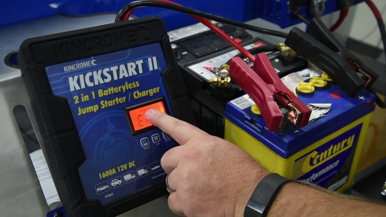 Kincrome How To Kp8002 Batteryless Jumpstarter Charger