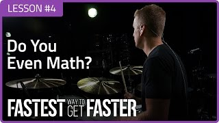 fastest way to get faster do you even math drum lesson