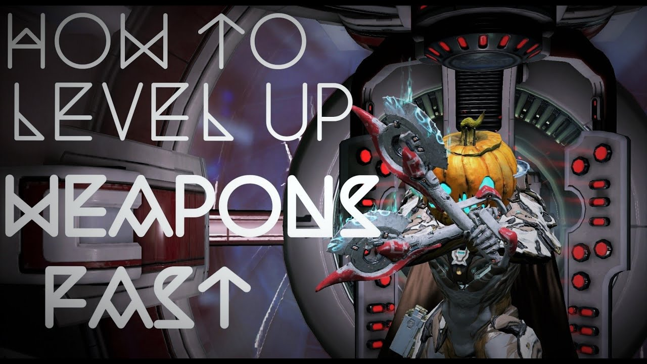 Warframe best weapons 2015 - How To Level Up Weapons Fast Warframe 2015