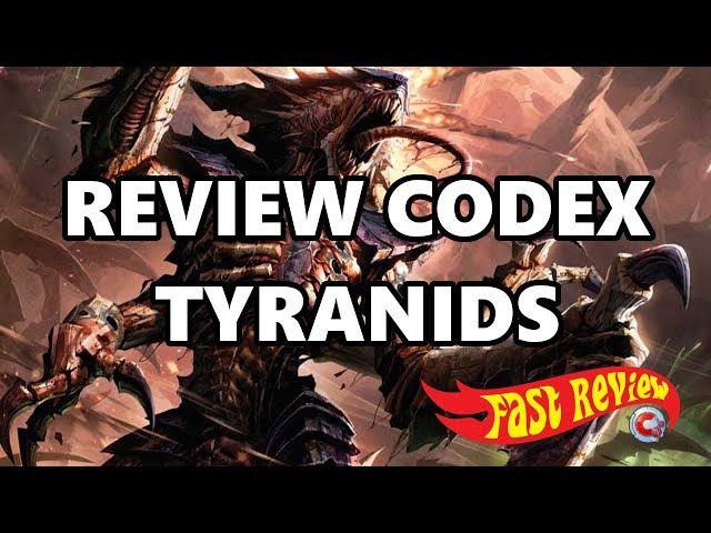 Commandeur TV - Fast review tyranids