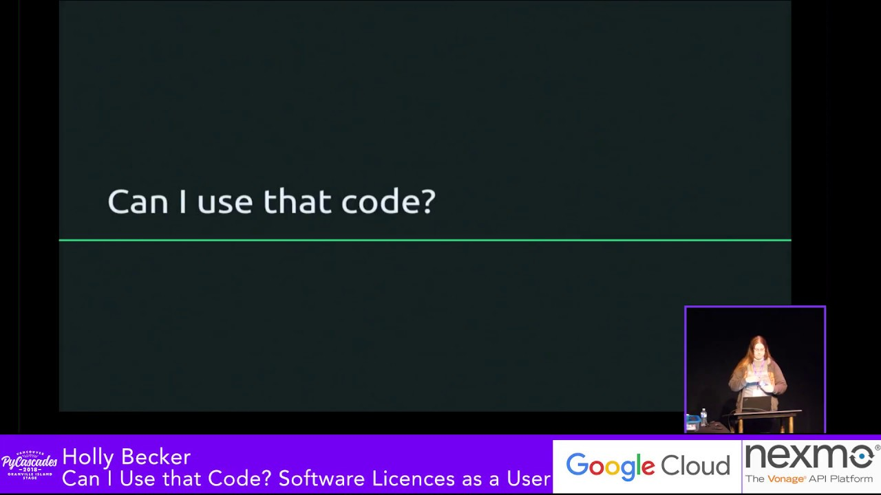 Image from Can I Use that Code? Software Licences as a User