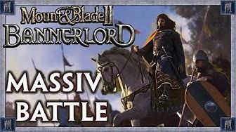 MASSIVE 980 Man Battle Vs Sturgia - Vlandia Campaign - Mount & Blade II: Bannerlord #5