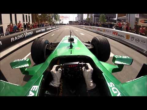 F1 onboard - Giedo van der Garde at City Racing Rotterdam