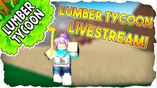 ONE PLOT CHALLENGE! | LUMBER TYCOON 2 LIVE STREAM | ROBLOX