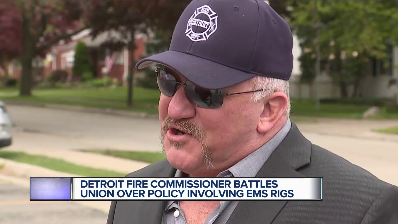 DFD Commissioner and fire union Pres. feud over EMS memo