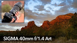 Sigma's Noct Blocker? 40mm f/1.4 ART for Nikon, Sony, Canon, Leica