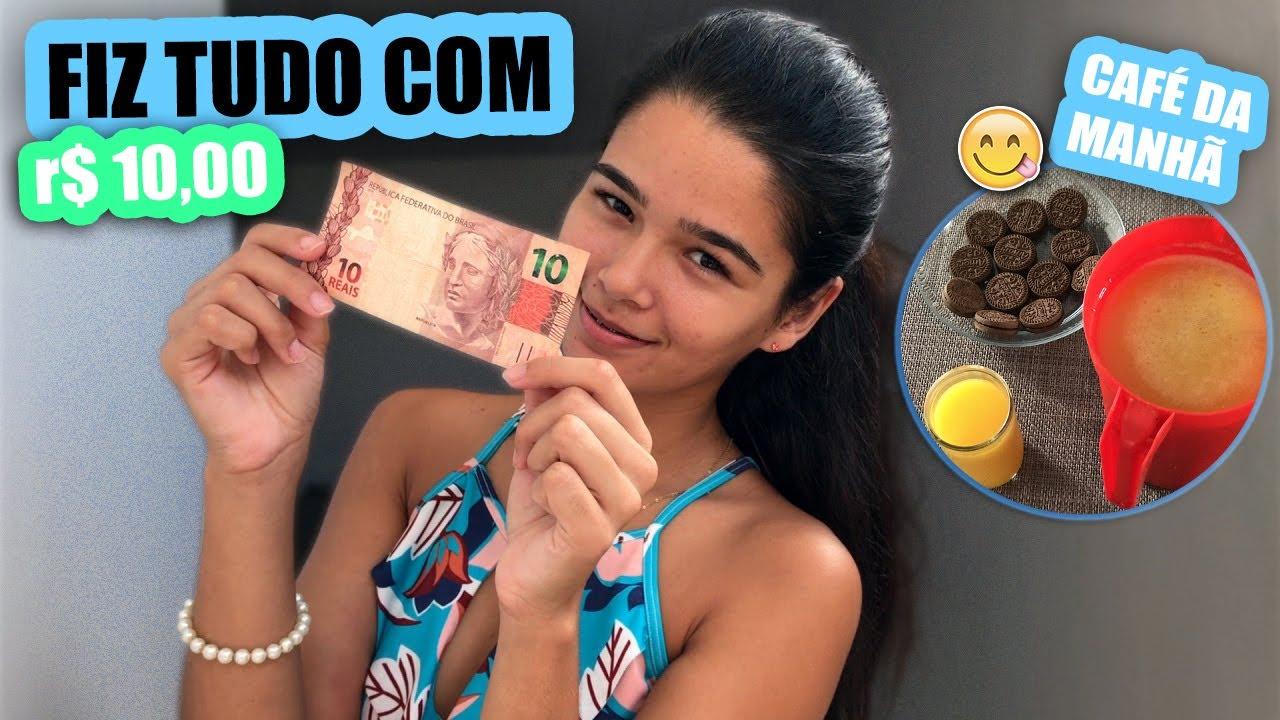 CAFÉ DA MANHÃ,ALMOÇO E JANTAR COM 10 REAIS