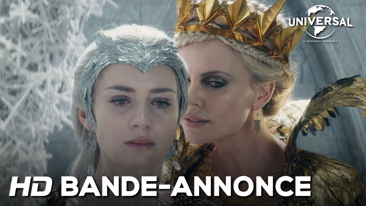Le chasseur et la reine des glaces la bande annonce officielle youtube - Robe reine des glaces ...