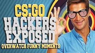 CSGO HACKERS EXPOSED!! IS HE COMING THRU THE WALLS? (OVERWATCH FUNNY MOMENTS)