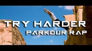 TAH RIQ Parkour: Try Harder - Parkour Rap
