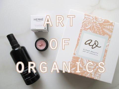 Art of Organics February Box: Radiant // Cruelty Free, Organic, Luxury Subscription Box!