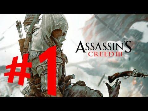 Assassin's Creed 3 - Parte 1: Jornada para o Novo Mundo [Sequência 1 - Playthrough em PT-BR]