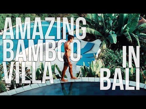MTV CRIBS - Bamboo Villa in Uluwatu, Bali
