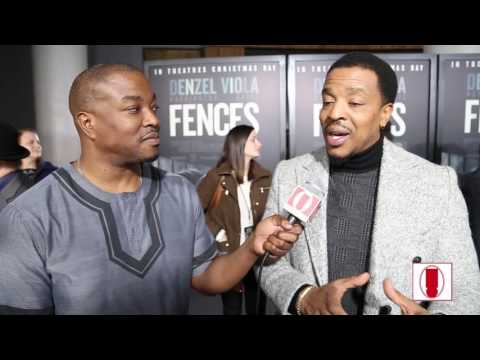 Russell Hornsby Talks About Working With Denzel Washington Directing