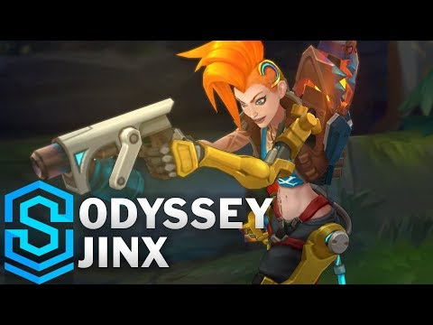 Odyssey Jinx Skin Spotlight