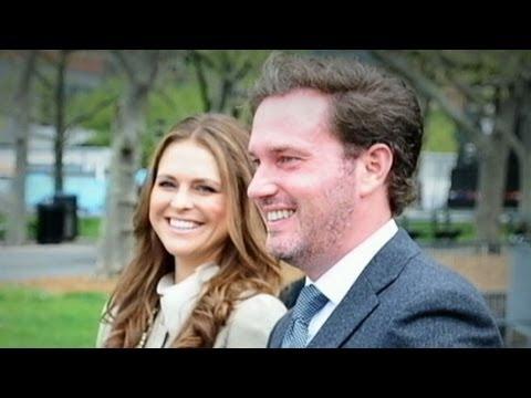 New York Banker Marries Princess Madeleine of Sweden