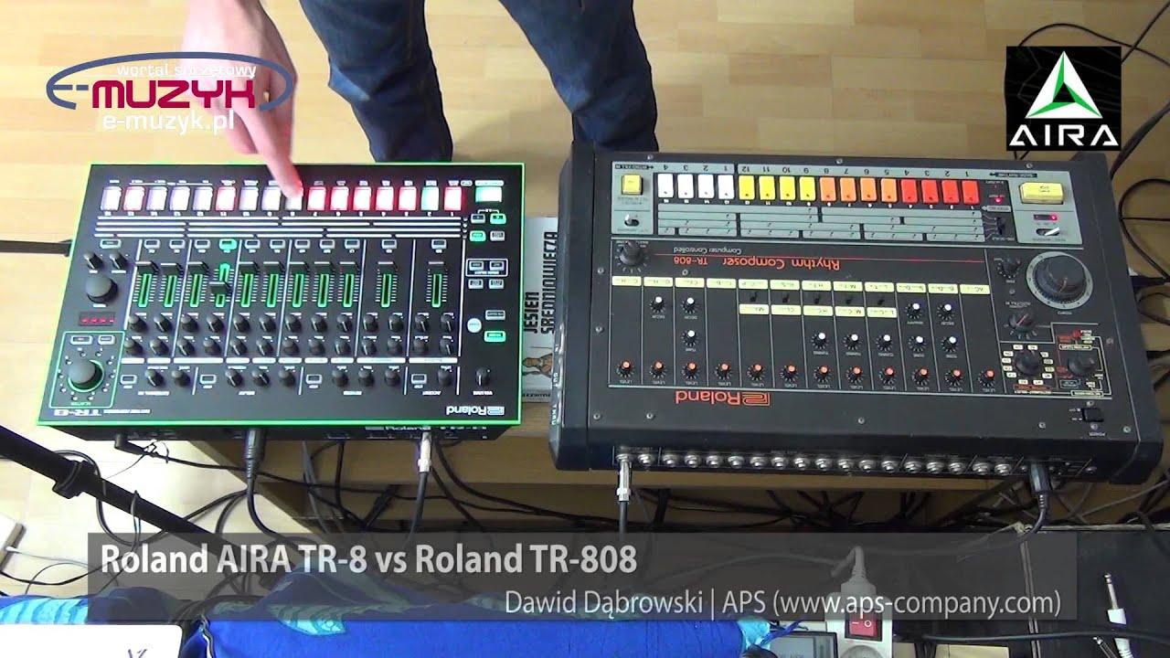 roland aira tr 8 vs roland tr 808 demo comparison por wnanie tr 8 z tr 808 youtube. Black Bedroom Furniture Sets. Home Design Ideas