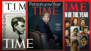 See Every TIME Person Of The Year Cover In 30 Seconds | POY 2016 | TIME