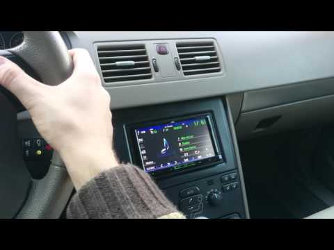 Volvo Xc90 Commercial >> Volvo XC90 DoubleDIN Radio and CarPC - YouTube