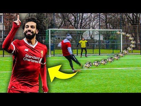 MOHAMED SALAH FUßBALL CHALLENGE !