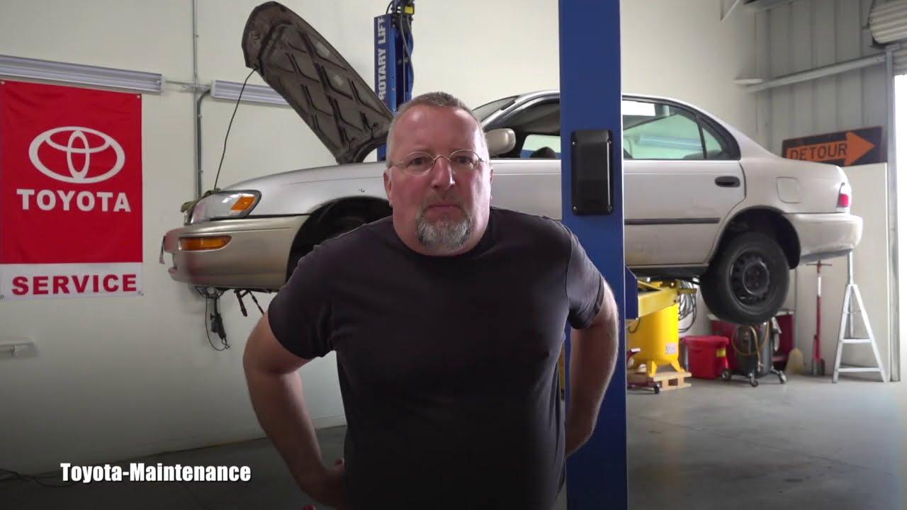 Toyota Corolla coolant leak