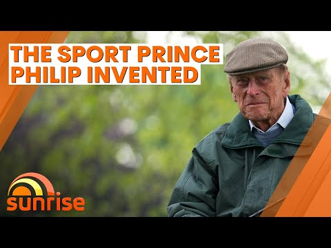 The sport Prince Philip invented that's now an international competition | Sunrise
