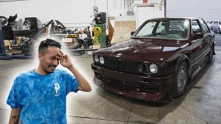 Giving my Best Friend MY E30!