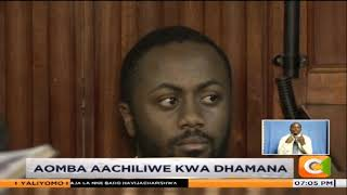 Joseph Irungu aandikisha hatikiapo akitaka aachiliwe kwa dhamana