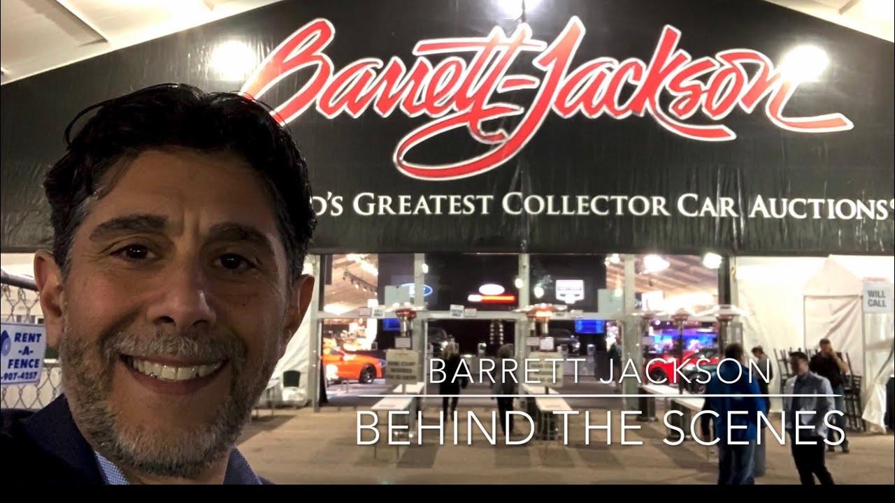Barrett Jackson Behind the scenes
