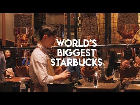 World's Biggest Starbucks - Shanghai Starbucks Reserve Roastery