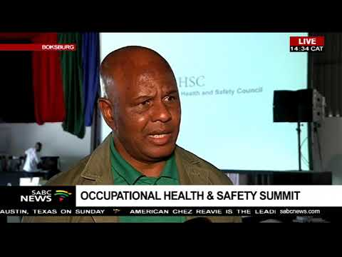 Joseph Mathunjwa reacts to the Occupational Health & Safety