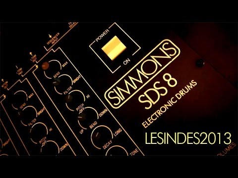 Simmons SDS-8 // Electronic Drum Synthesizer