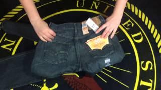 Джинсы Levis 501 18 Months Green в магазине Aquamir.UA